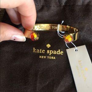 NWT Kate Spade Cuff Bracelet